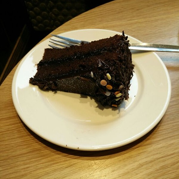 Belgian Chocolate Confetti Cake
