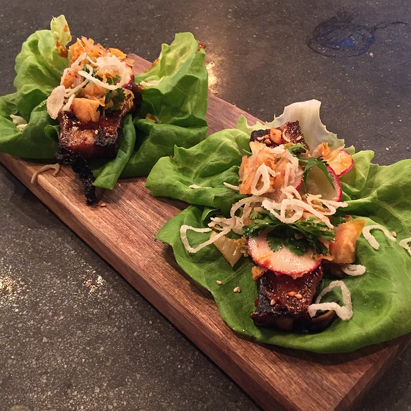Pork Belly Lettuce Wraps @ Bacon Bros. Public House