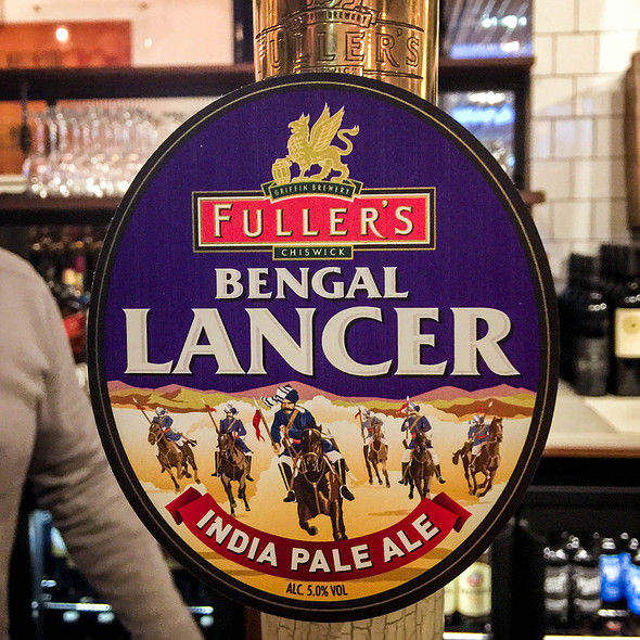 Fullers Bengal Lancer @ The Three Guineas