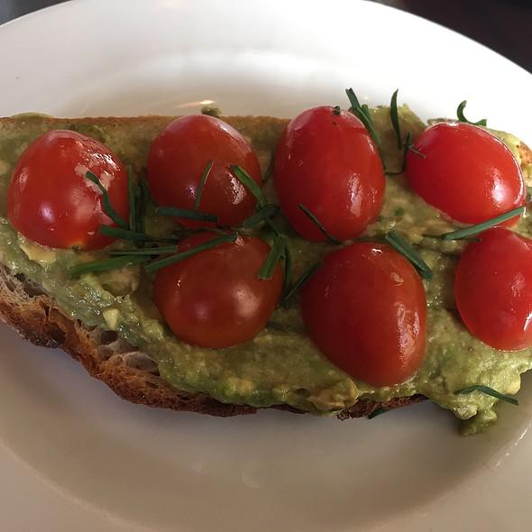 Tomato And Avocado On Sourdough Toast