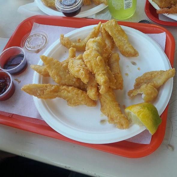 Fried Fish Plate @ Alaska Seafood & Sushi