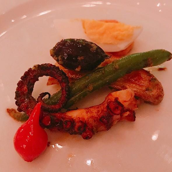 Chargrilled Octopus @ Santaella