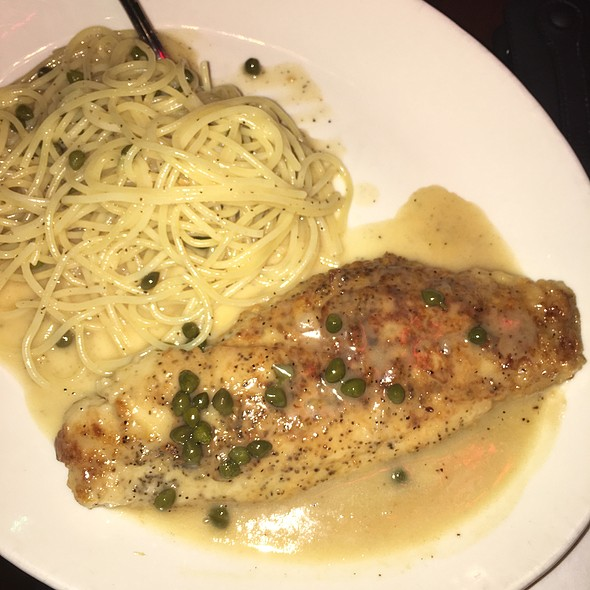 Snapper Piccata @ Luigi's Coal Oven Pizza