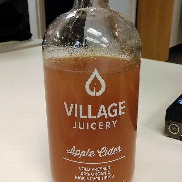 Cold Pressed Apple Cider Juice