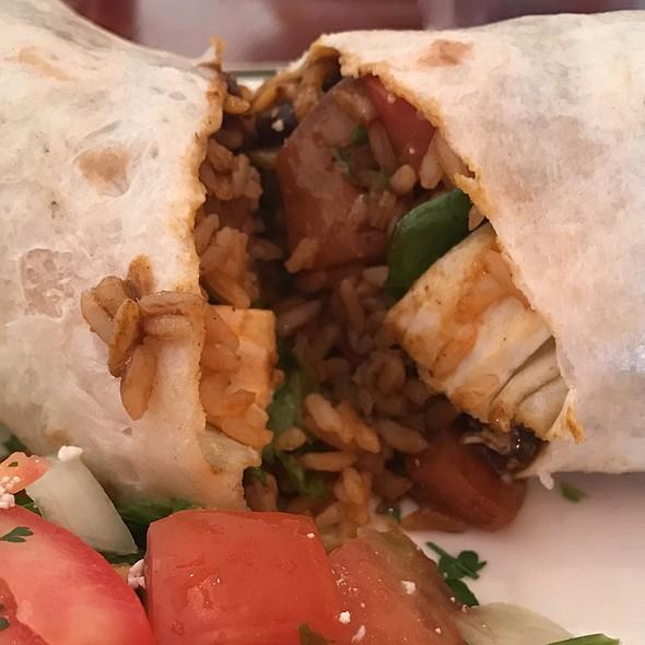 Chicken Molé Burrito