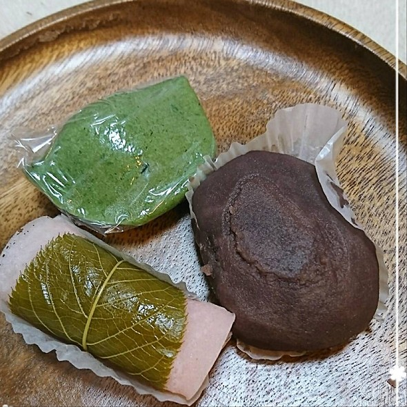 Sakuramochi,Kusamochi,Ohagi @ 栄寿堂
