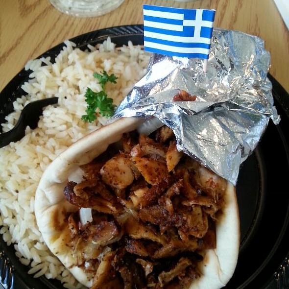 Chicken Gyro @ Mad Greek Cafe