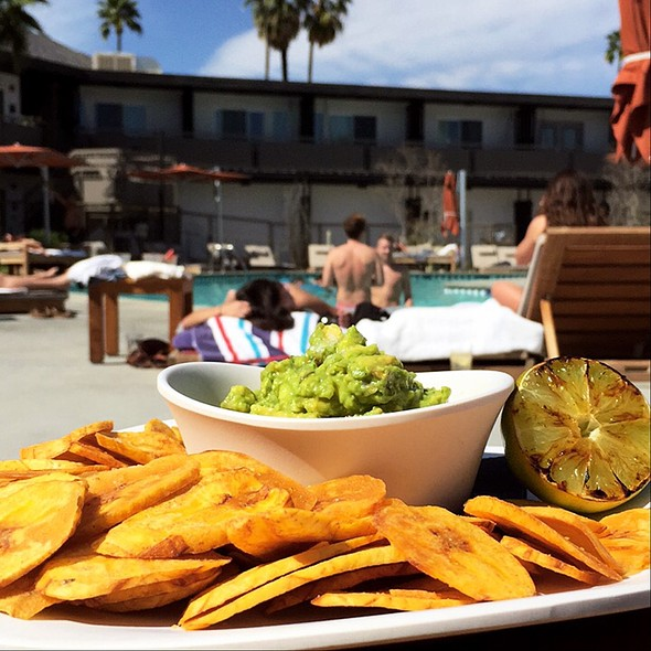 Plantains And Guacamole @ V Palm Springs