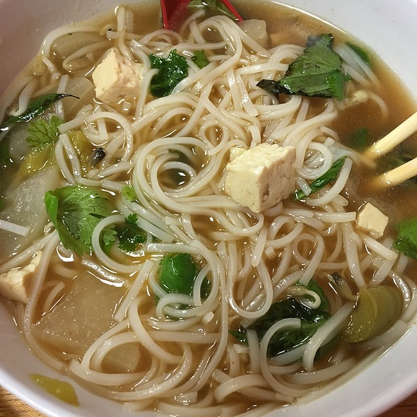 Pho Chay (vegetarian Pho)