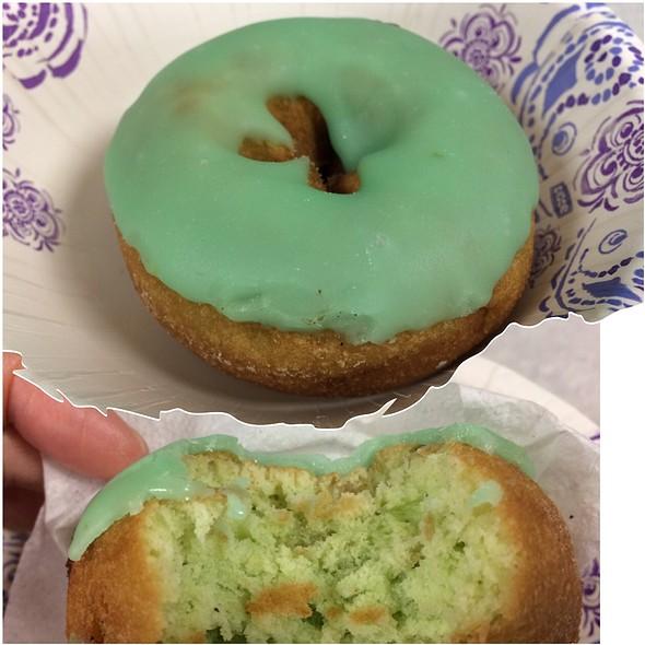 Honeydew Melon Donut @ Regal Bakery