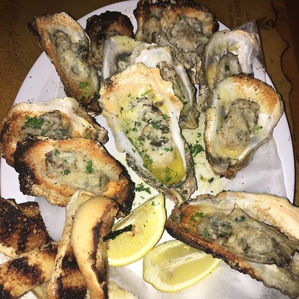 Dozen Grilled Oysters @ Southport Raw Bar