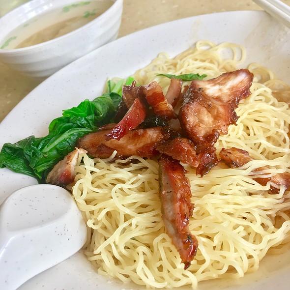 Wanton Noodle @ Fei Fei Roasted Noodle