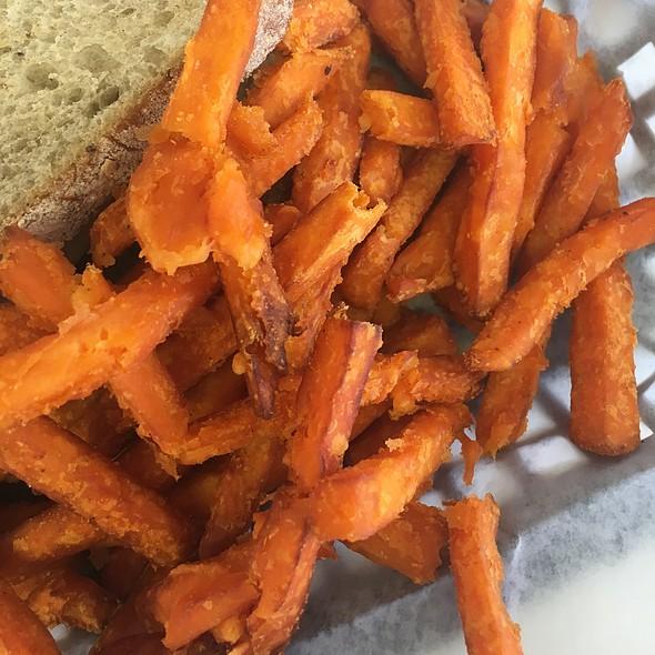 Sweet potato fries @ Oasis Diner