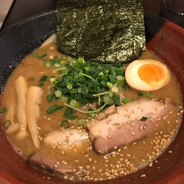 Ramen In Miso & Fish Broth Soup