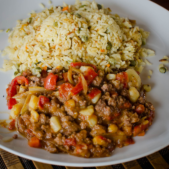 Indonesian Meat Curry @ Villa Strelitzia