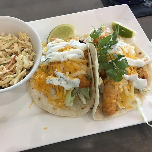 Achiote Marinated Mahi Tacos