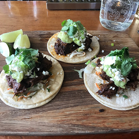 Steak Tacos @ J-Bar at Hotel Jerome