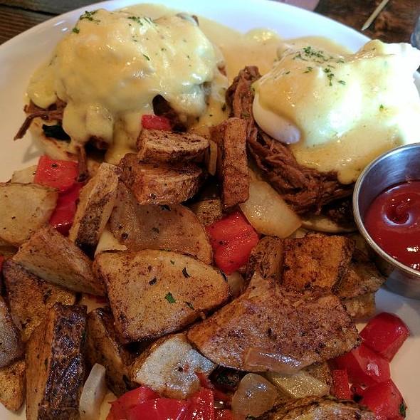 Beef Brisket Eggs Benefict @ Madison's