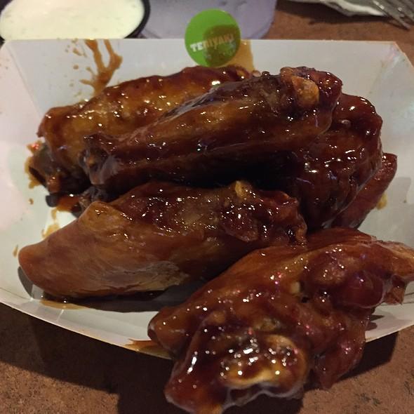 Teriyaki wings @ Buffalo Wild Wings Grill & Bar