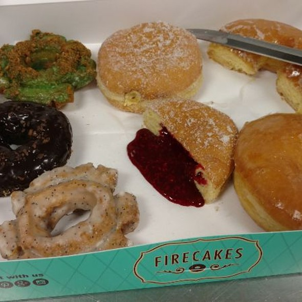 Donuts, A Lot Of Very Good Donuts @ Firecakes