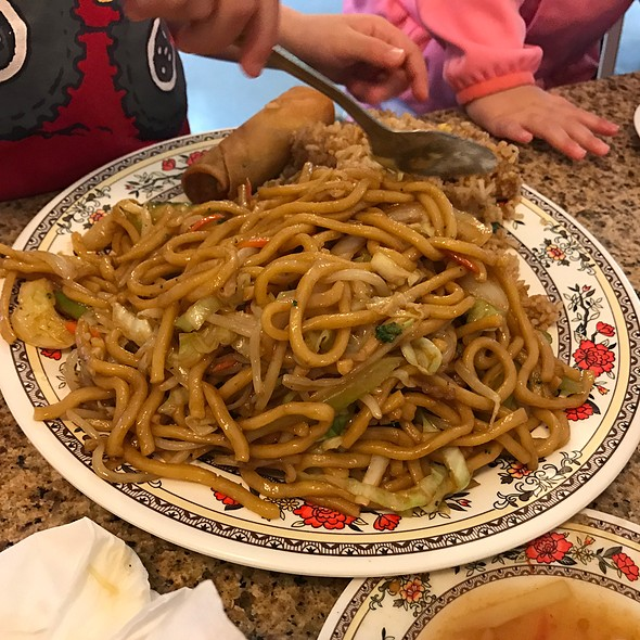 Noodles And Fried Rice