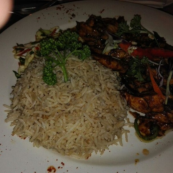Thai Chicken Chilli Dry