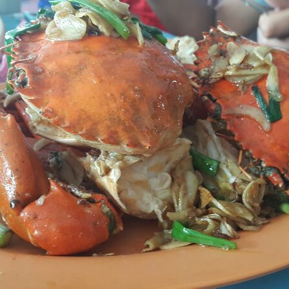 Butter Crabs @ New Kukup Seafood Restaurant