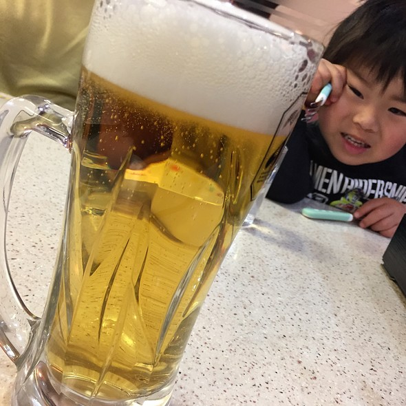 アサヒ スーパードライ @ 餃子の王将 大和駅前店