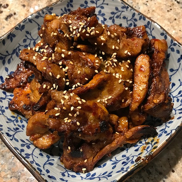Pork With Chili Garlic Sauce
