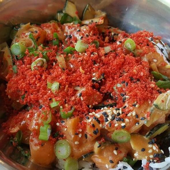 Spicy Salmon House Bowl