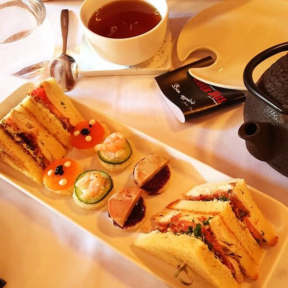 Tea Time Menu