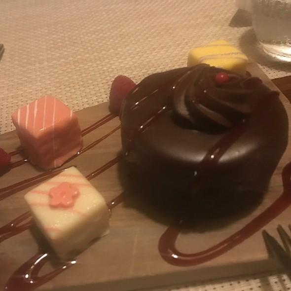 Flourless Chocolate Cake And Petit Fours