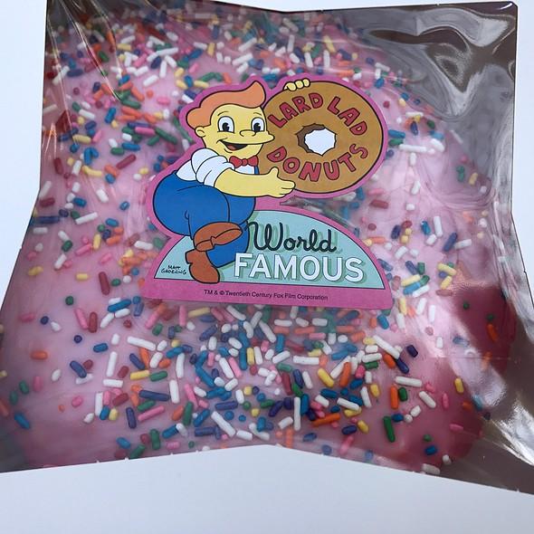 The Big Pink @ Lard Lad Donuts Hollywood