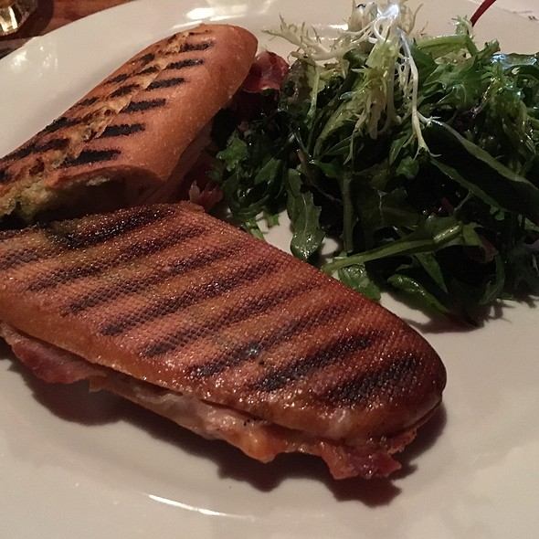 Proscuitto And Brie Panini