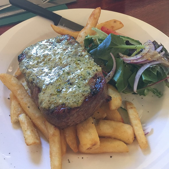 Porterhouse Steak With Butter Sauce @ Old City Bank Brasserie