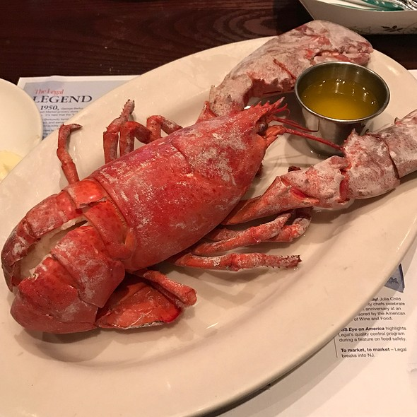 Steamed Lobster @ Legal Sea Foods
