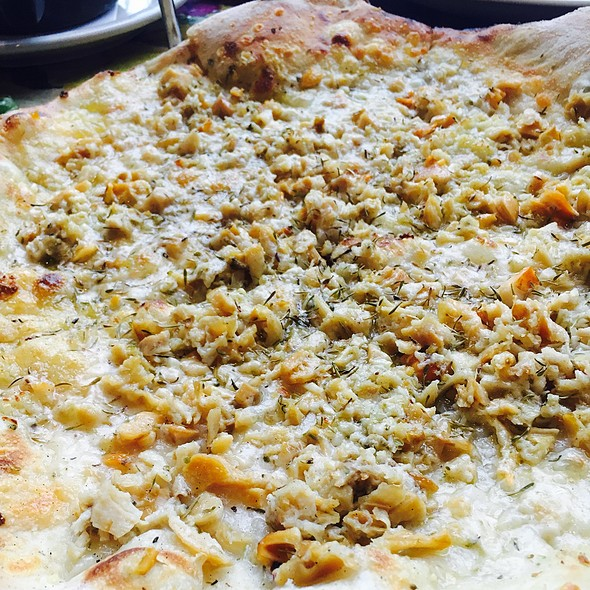 White Clam Pizza @ Grana
