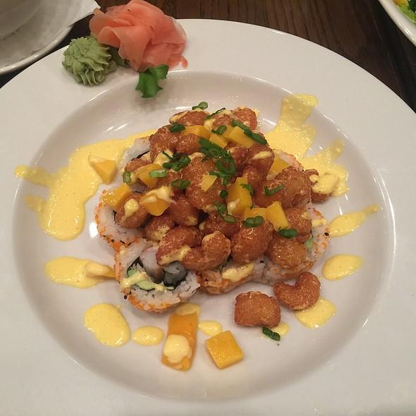 Mango Bang Bang Shrimp Roll