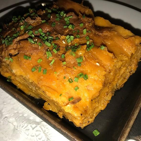 Sweet Potato Gratin @ Bar Americain