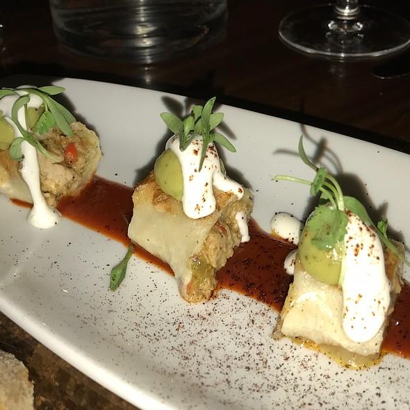 Crispy Barrio-style Chicken Taquitos  @ Stanton Social