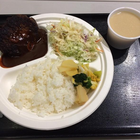 Hamburger Platter