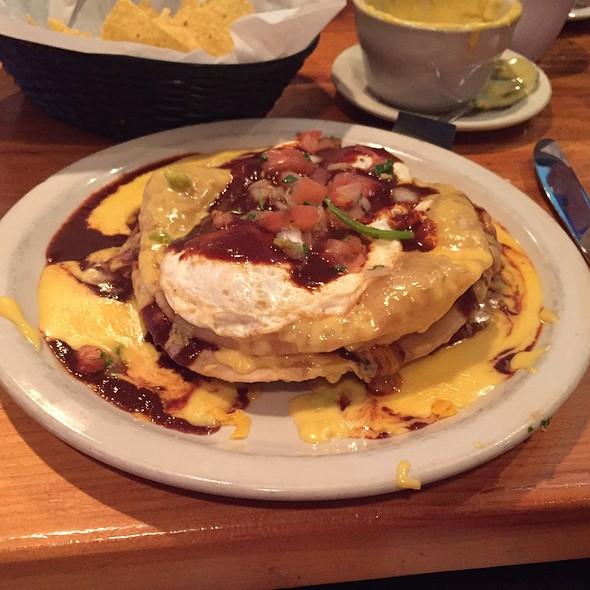 Puffy Breakfast Enchiladas