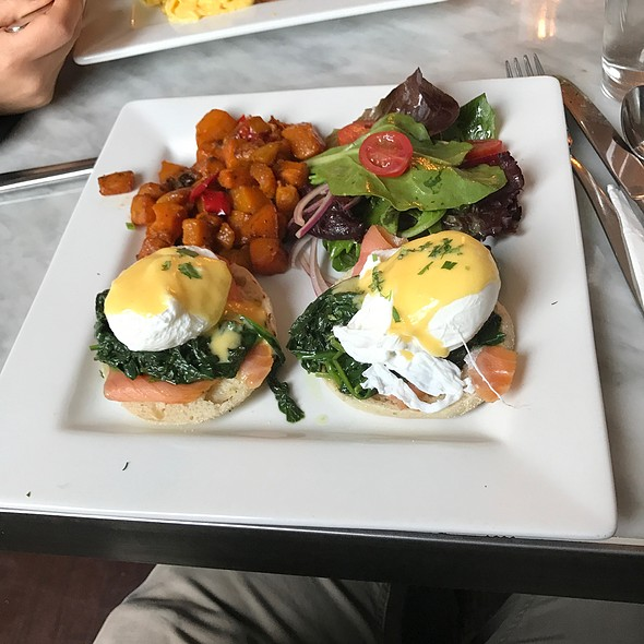Eggs Benedict With Lox @ Kitchen