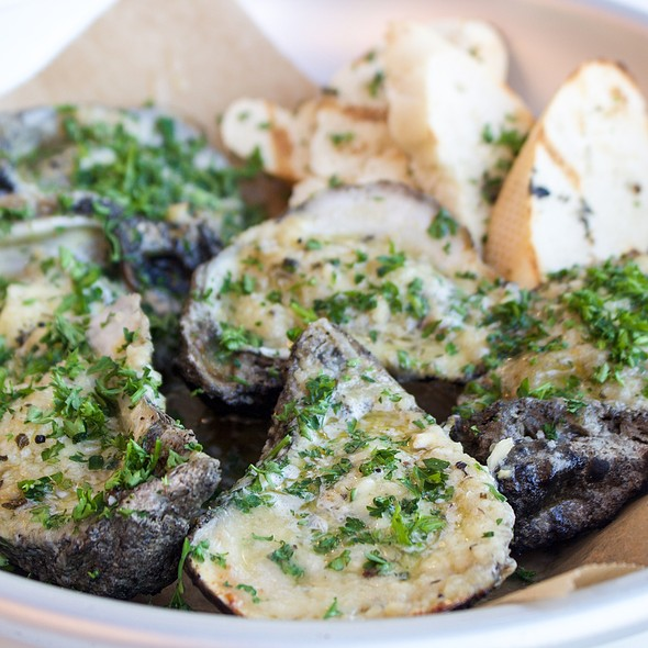 Charbroiled Oysters @ Ulele