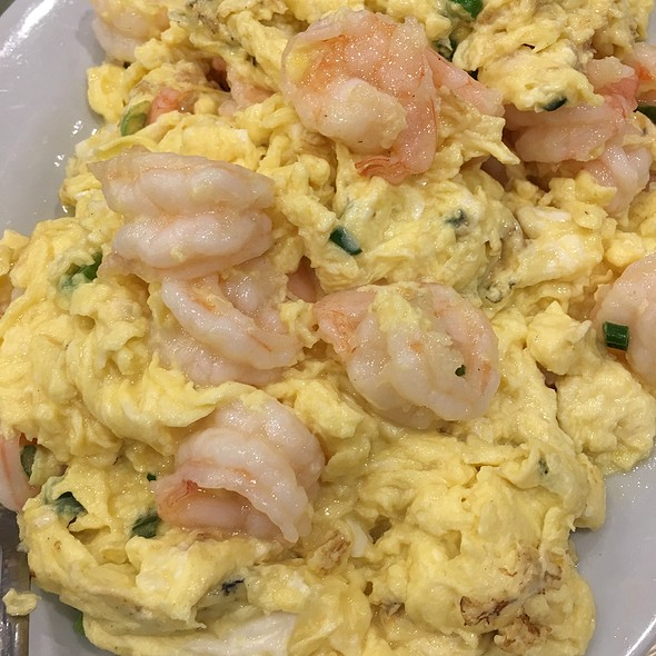 滑蛋蝦仁 Scrambled Eggs with Prawns @ Sandy La Chinese Restaurant