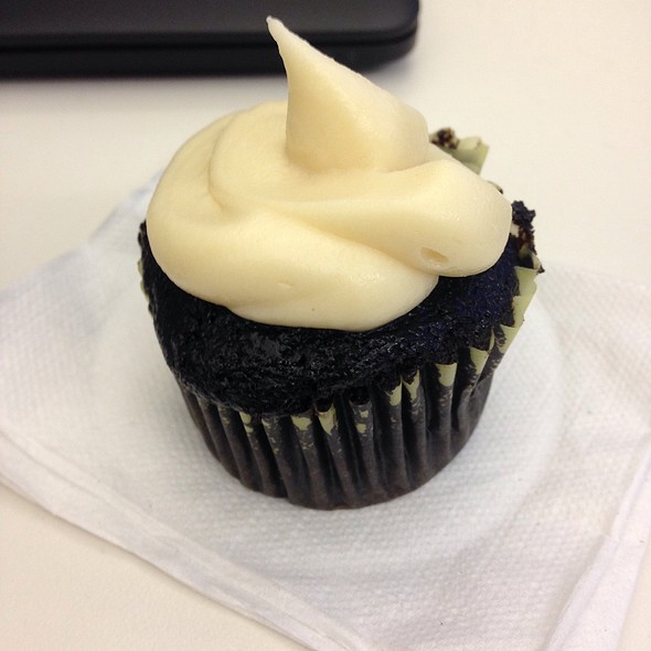 Guinness Cupcake W/ Bailey's Frosting
