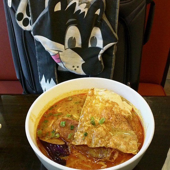 Curry Mee with Young Tofu @ Coco Asian Cuisine