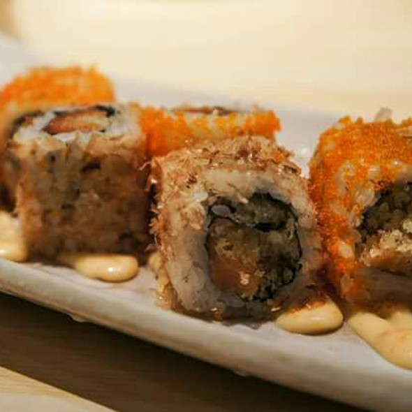 Cranky Salmon Roll