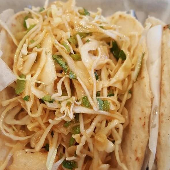 Tempura Local Shrimp Taco