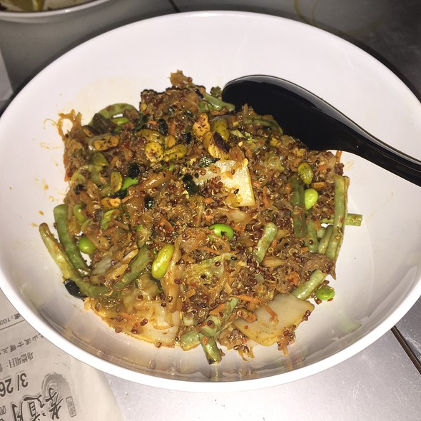 Kimchee Quinoa Bokkeumbap @ Myers+Chang